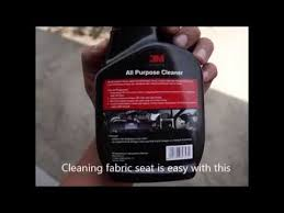 3m Foaming Car Interior Cleaner 3m All Purpose Cleaner Cleaning Fabric Seat Youtube