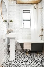 subway tile bathroom designs black and white subway tile bathroom nurani org