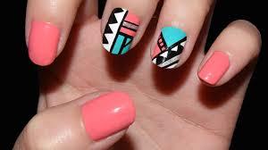 figuras geometricas uñas uñas geométricas cristinails youtube