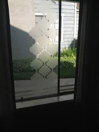 diy privacy frosted window covering my projects pinterest