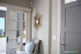 How To Paint An Interior Door by Gray Painted Doors Life On Virginia Street