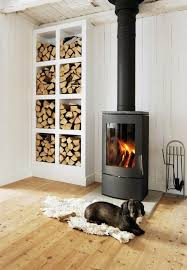 Fireplace Pipe For Wood Burn by 13 Wood Stove Decor Ideas For Your Home Stove Small Spaces And