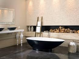 Bathroom In Black Baths As Art