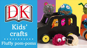 craft ideas for kids pom poms youtube