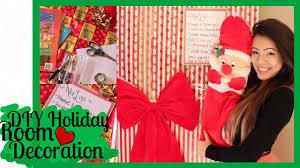 diy holiday room decoration christmas door nice list more