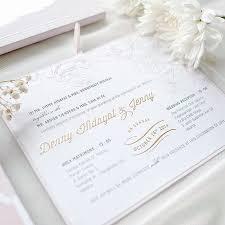 wedding invitations jakarta wedding invite for denny by tapestry invitation