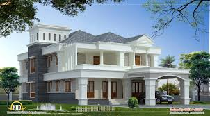 luxury villa floor plans luxury villa design kerala home floor plans home building plans