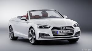 convertible audi white 2018 audi a5 cabriolet color glacier white front three