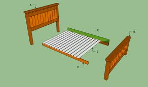 bed frames build a platform bed diy plans for king size bed how