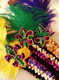 mardi gras specialty fleurty girl everything new orleans mardi gras flapper headband