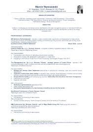 Areas Of Expertise Resume Examples Resume Foreign Language Resume For Your Job Application