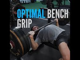 powerlifting bench press grip width what is the optimal bench press grip width youtube