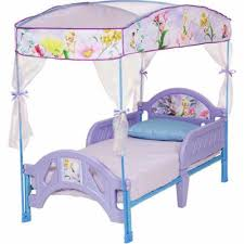 Toddler Bed With Canopy Tinkerbell Canopy Toddler Bed