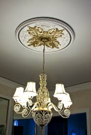 Light Fixture Ceiling Medallion by Ceiling Medallion Showcase
