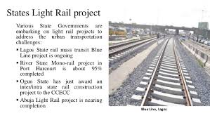 new light rail projects nigeria rail industry