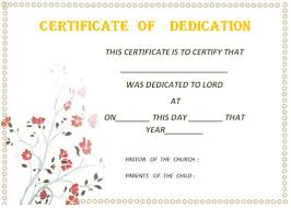 26 free fillable baby dedication certificates in word stunning