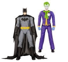 dc universe giant size action figure the new 52 set batman and