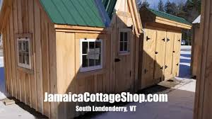 Prefab Studio Shed A Tiny Art Studio Shed Cabin Model In Vermont Jamaica Cottage