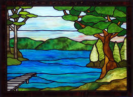 Painting Designs Custom Painted Stained Glass Effect Stained Glass Pinterest
