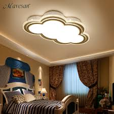 luminaires pour chambre nouveau enfants plafond led lumière pour chambre télécommande nuage