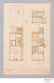 diazo print alterations ground and first floor plans bank of nsw