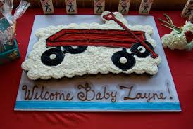 my red wagon baby shower cake yelp