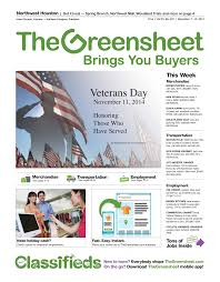 employment the greensheet