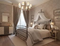 brown curtain bedroom for luxury bedroom design using metal
