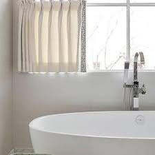 Gray Cafe Curtains Casement Window With Cafe Curtains Design Ideas