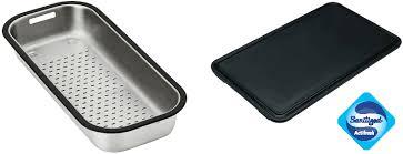 franke sink accessories chopping board franke largo stainless steel work centre sink
