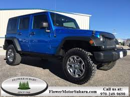 2015 jeep wrangler rubicon unlimited used 2015 jeep wrangler unlimited rubicon 4x4 in montrose co