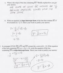 solving equations involving parallel and perpendicular lines worksheet answers worksheets for all and share worksheets free on bonlacfoods com
