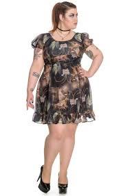 spin doctor plus size renaissance mini dress