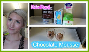 Keto Cheesecake Fluff by Eating Keto 5 Chocolate Mousse Youtube
