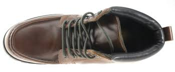mens red tape keasden tan brown leather lace up ankle boots ebay