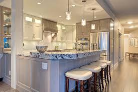 granite island kitchen interior sweet white kitchen decoration with white recessed