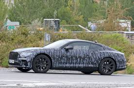 bentley coupe spied next bentley continental gt wears less camouflage