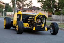 lego subaru brz this full size lego car is powered by air technabob