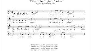 instrumental this little light of mine music man viyoutube com