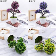 bonsai tree plastic floral décor ebay