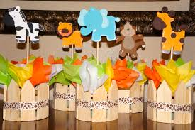 jungle theme baby shower centerpiece ideas baby shower jungle