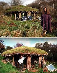 real hobbit house hobbit houses 15 grassy hill shaped dwellings webecoist