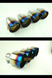 nissan gtr for sale ebay real titanium exhaust tips blue purple tint new sale for gtr