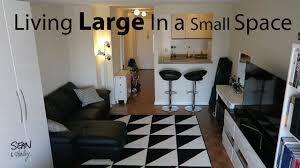 living in a nyc studio apartment small space living youtube