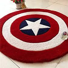 Captain America Bedroom by Memorecool Children U0027s Room Area Rugs Captain America Shield Carpet