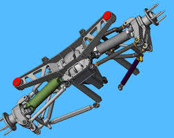 corvette rear suspension 6 link rear suspension