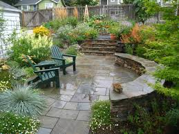 garden ideas sloped backyards backyard fence ideas