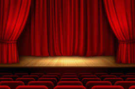 Curtains On A Stage Directing Class Energy Is Like Directing A Stage Play Indoor