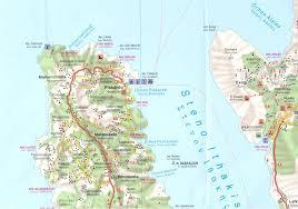 Ithaca Map Kefalonia U0026 Ithaka Cephalonia U0026 Ithaca Greece 1 75 000