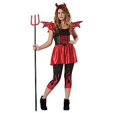 Devil Halloween Costumes Totally Ghoul Devil Doll Girls Halloween Costume Size Teen 3 5